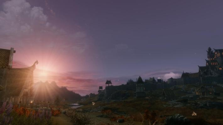 Skyrim Modded HD Picture